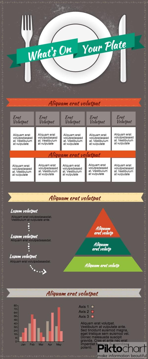 bojangles infographic template