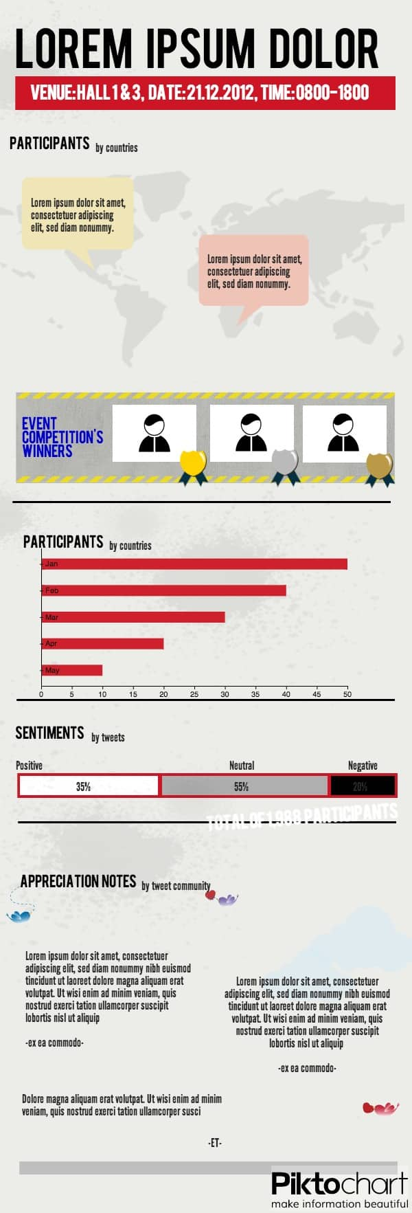 event infographic template