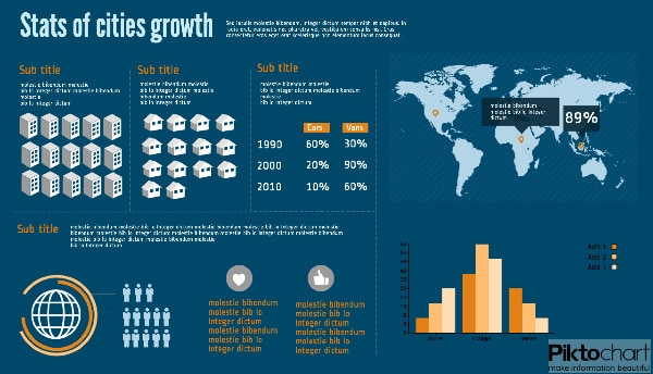 growth infographic template