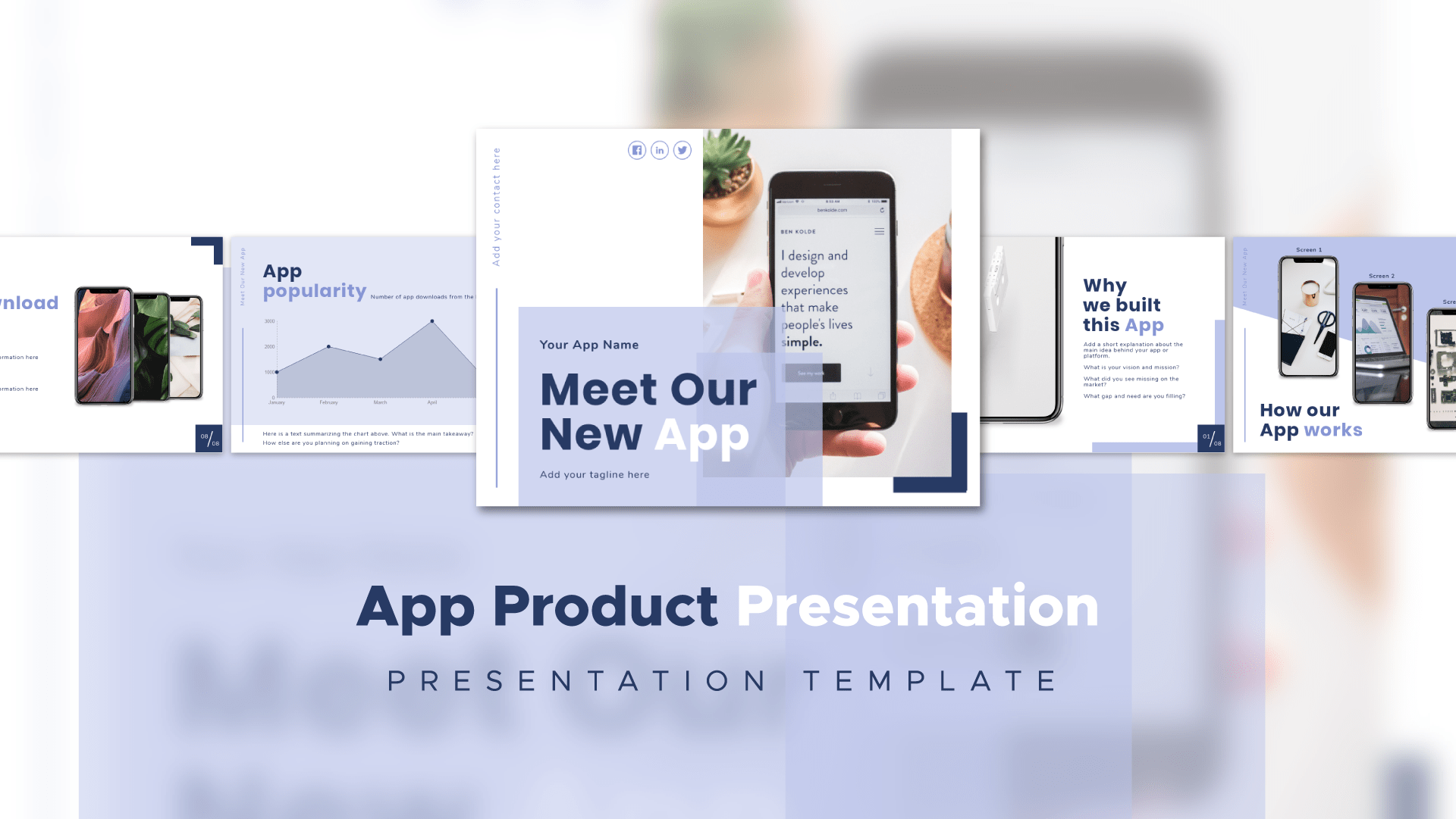 product presentation example