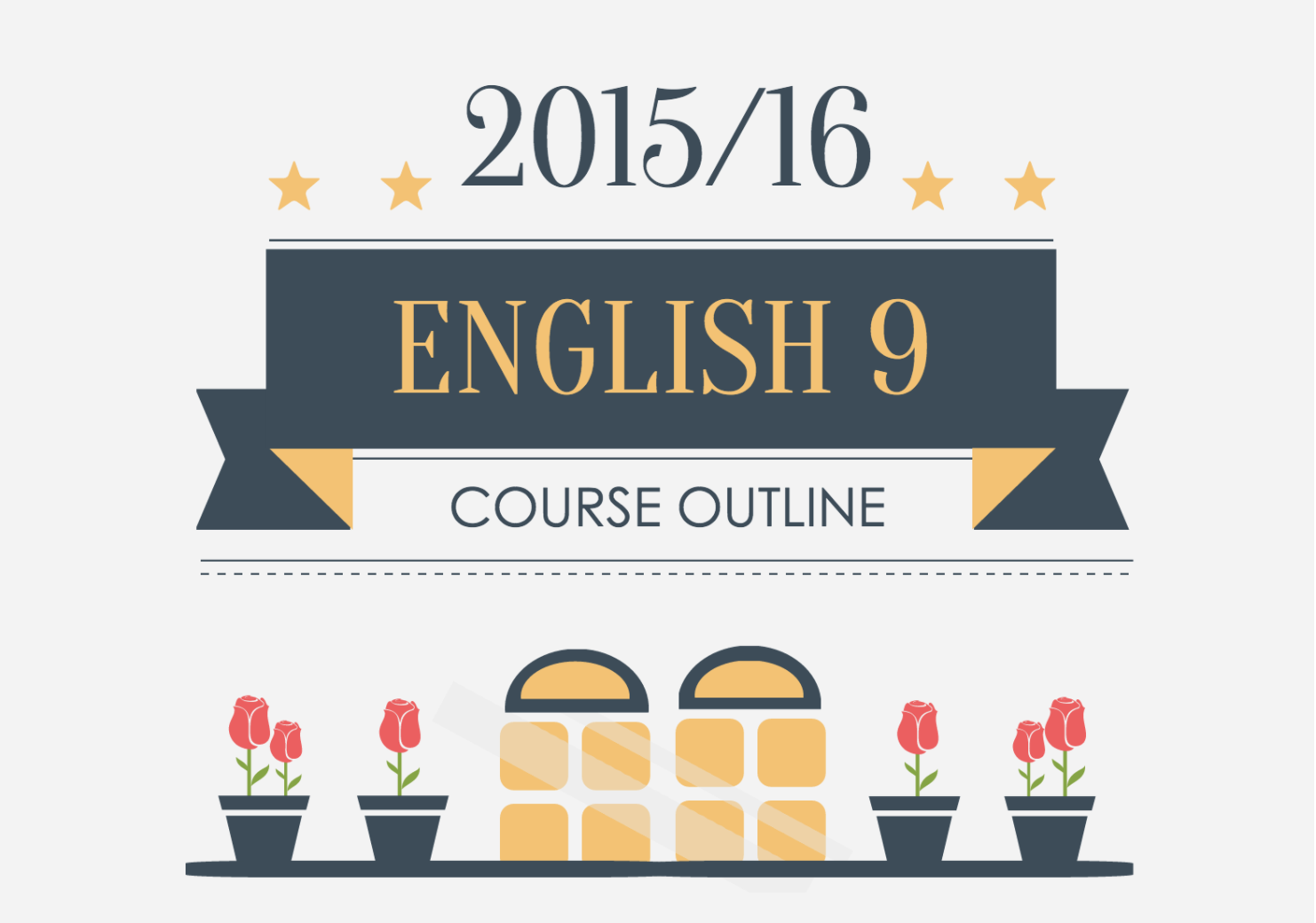 english course outline, infographic syllabus examples