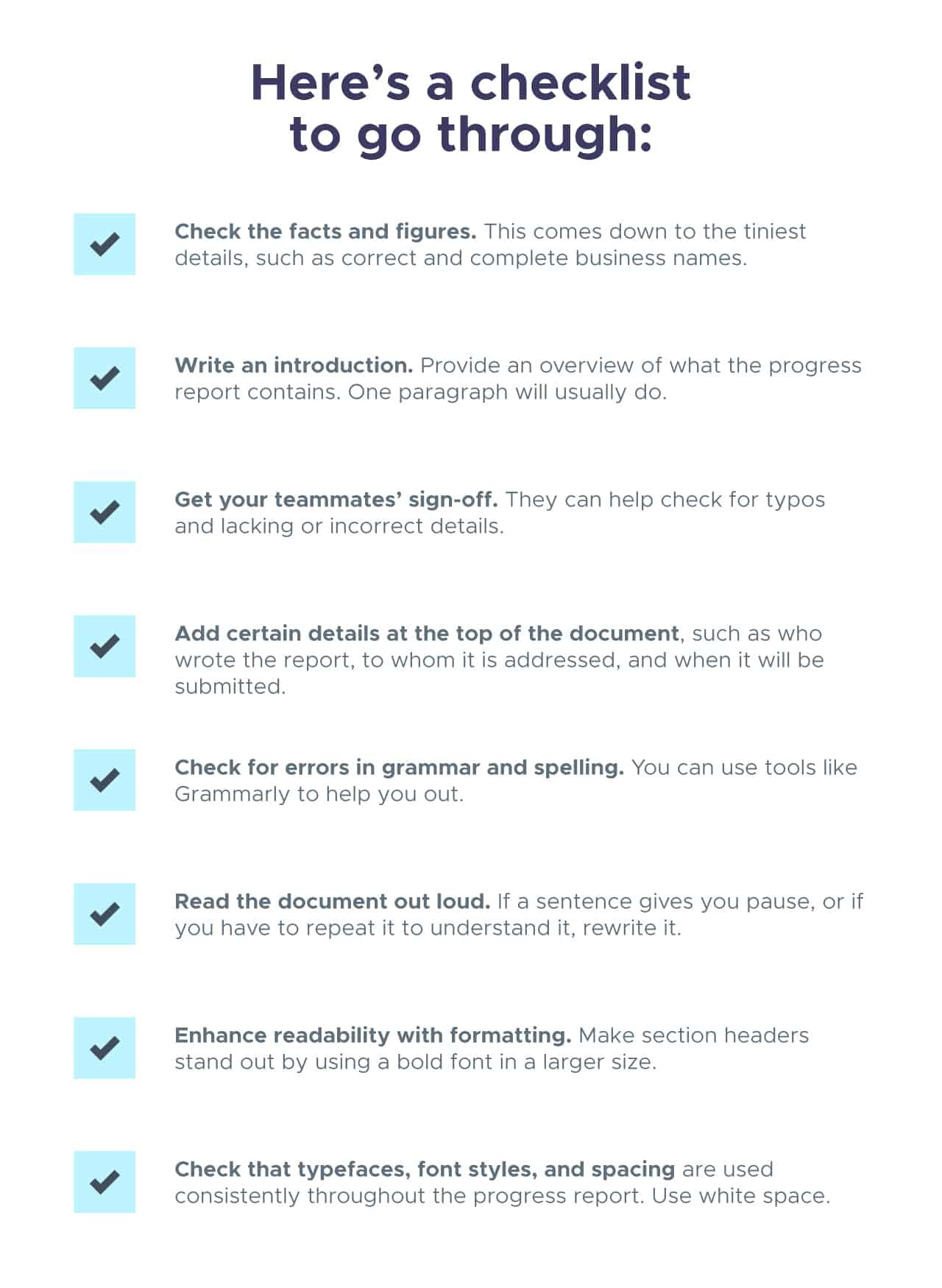 progress-report-checklist-8549520