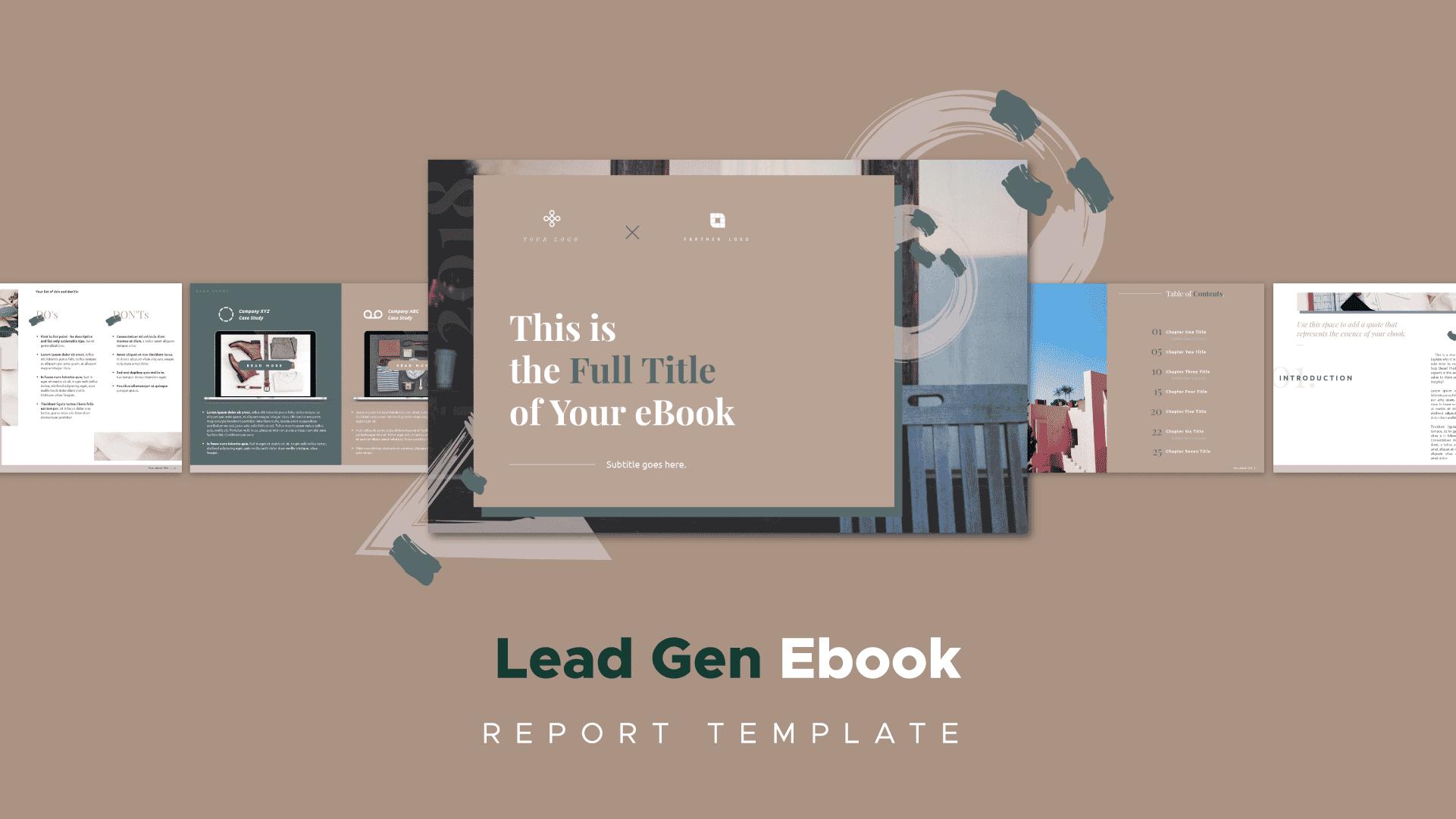 cozy theme ebook template, ebook template
