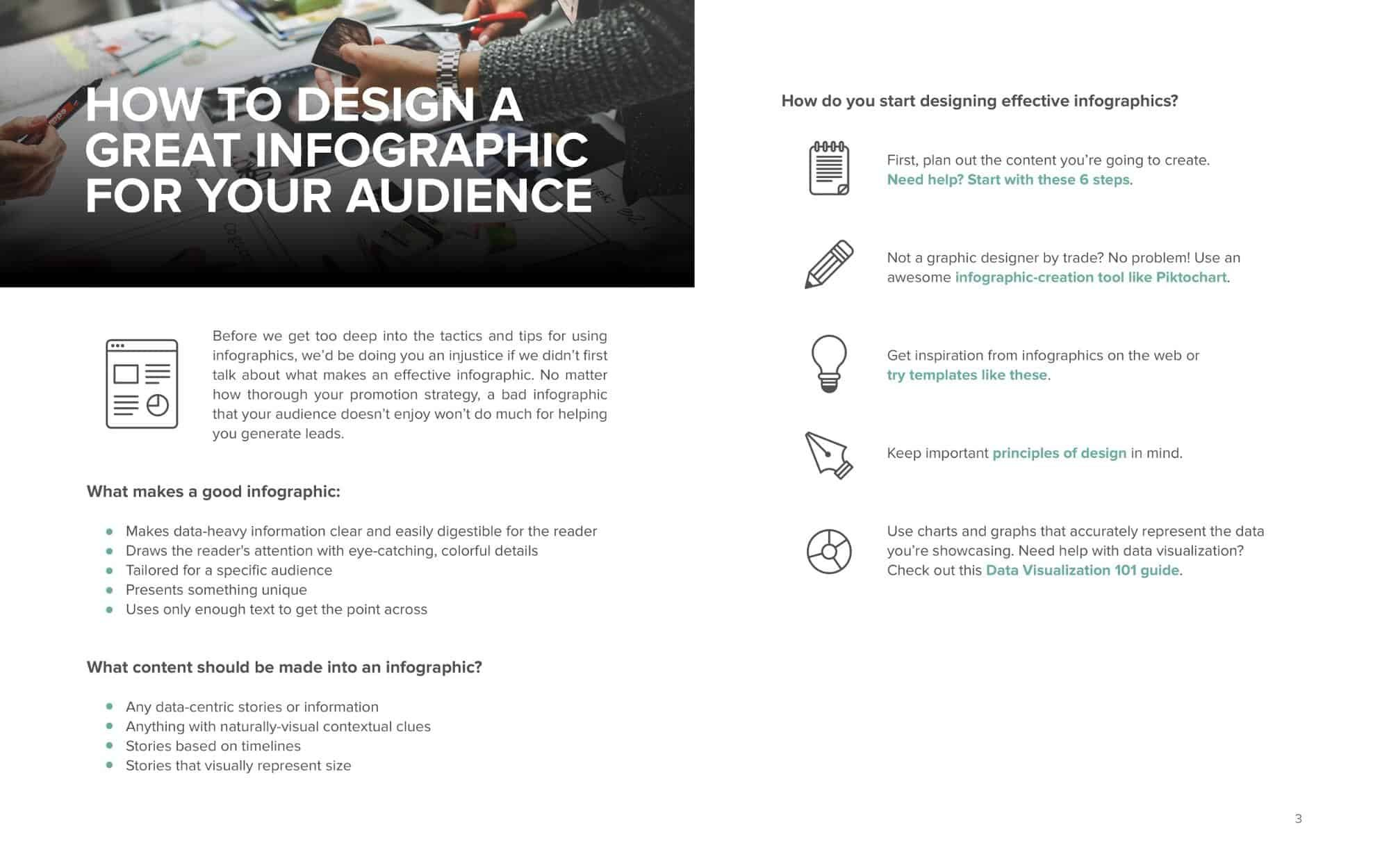 how to design infographic free ebook