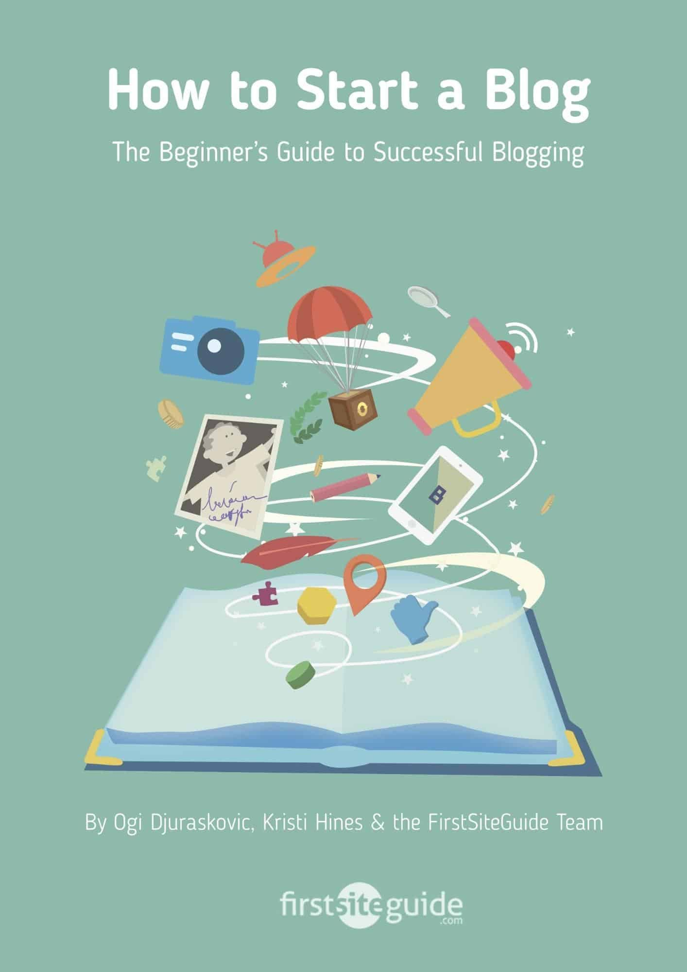 how to start a blog free ebook, free ebook example