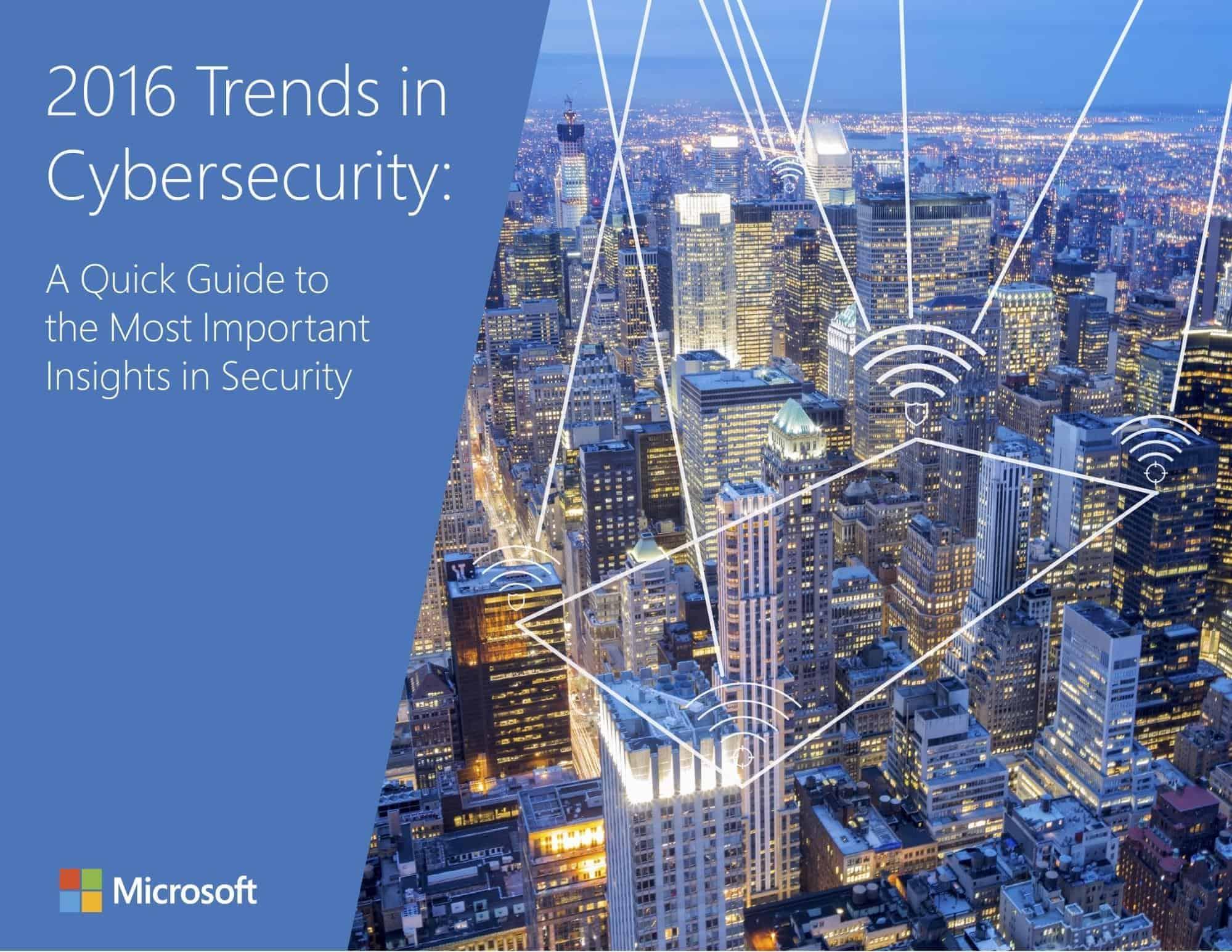 trends in cybersecurity microsoft free ebook, free ebook example