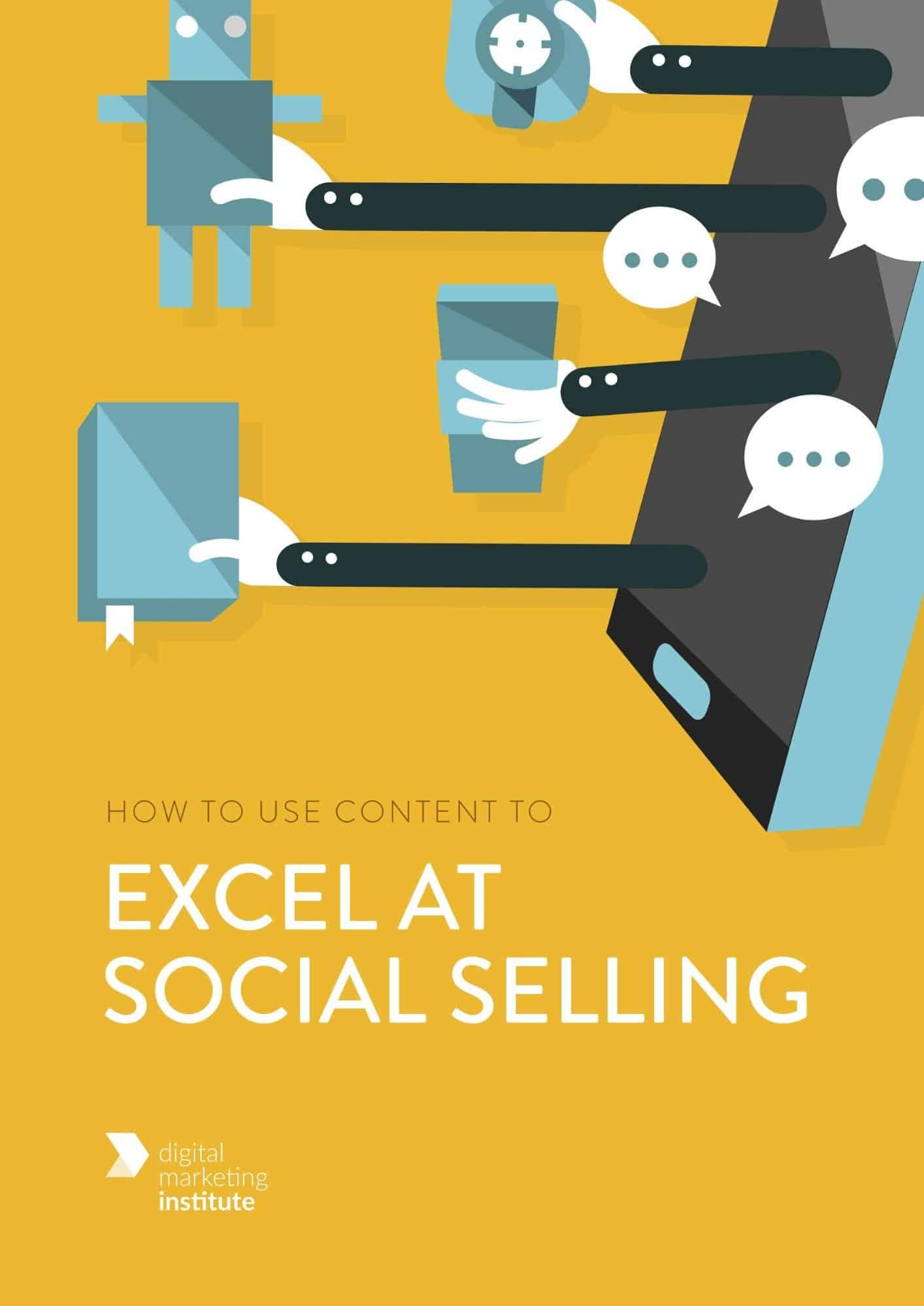 How to use content to excel at social selling free ebook, free ebook example