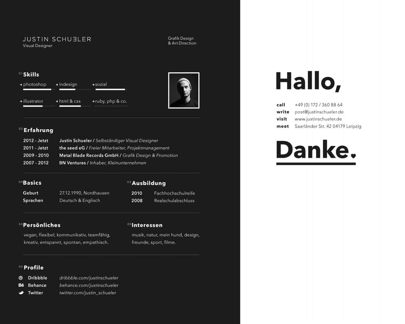 visual designer resume, visually appealing cv examples