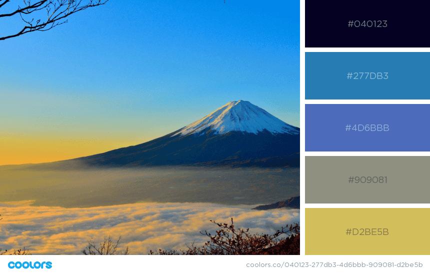 natural colors combinations, nature colors