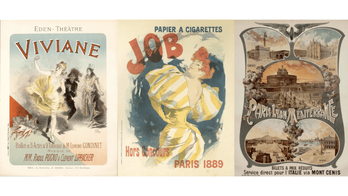 jules cheret posters