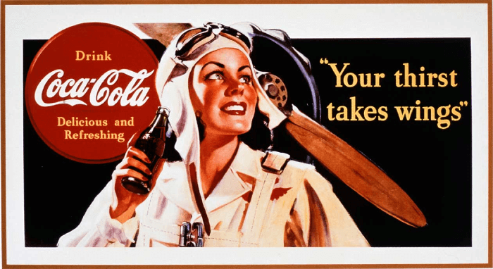coca-cola poster, brand poster
