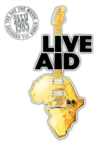 event poster example, live aid