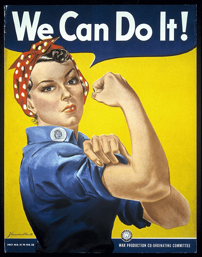 political poster, we can do it poster