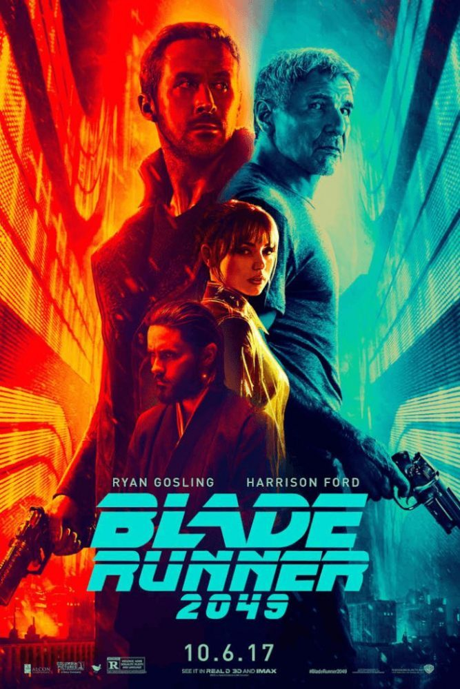 blade runner poster, descriptive movie poster examples