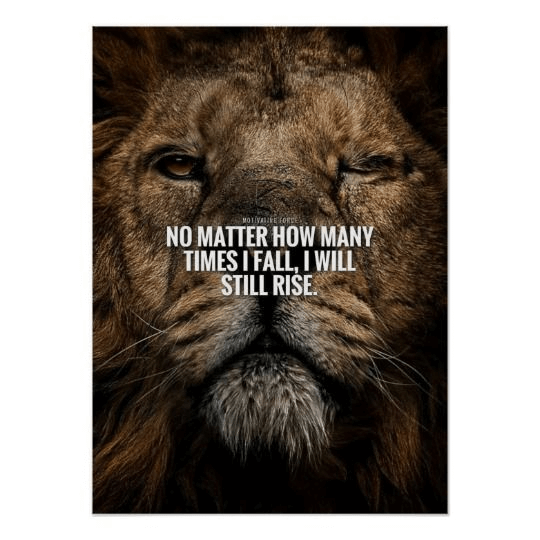 motivational ad poster examples
