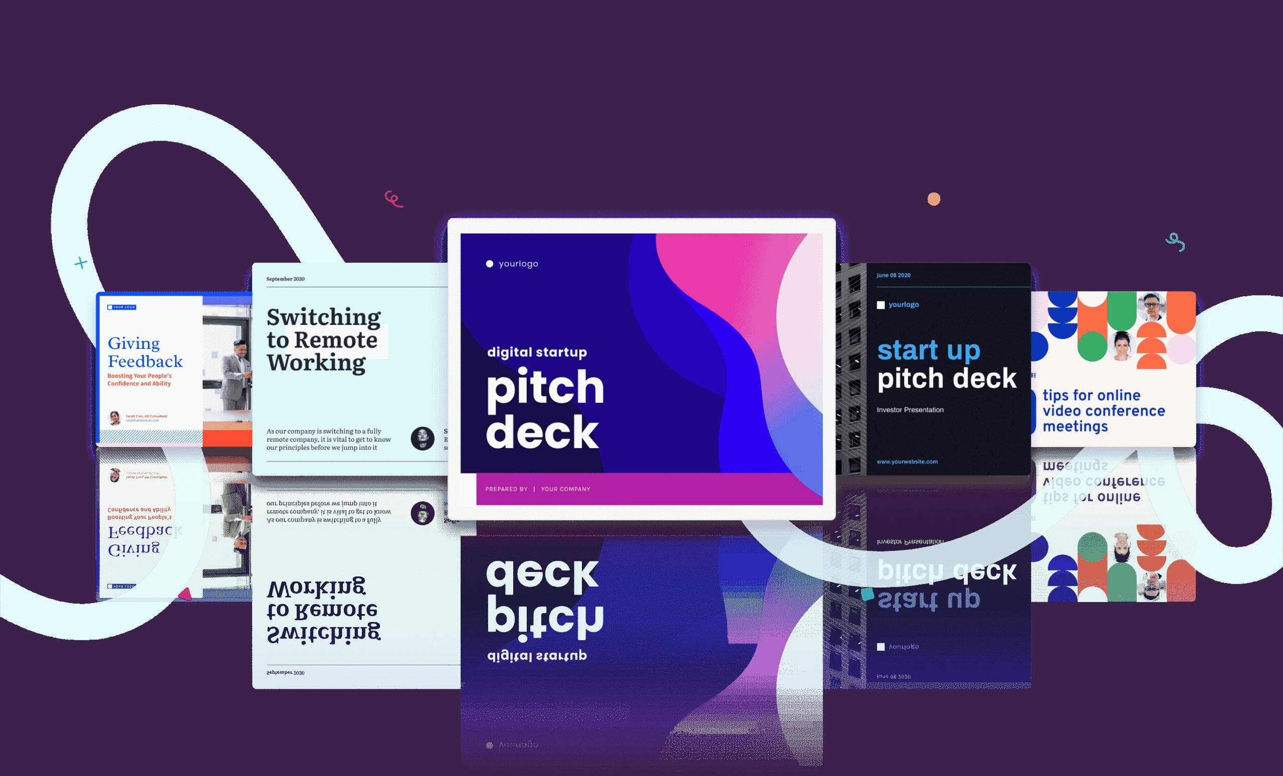visual content maker, online presentation maker, slideshow online with Piktochart
