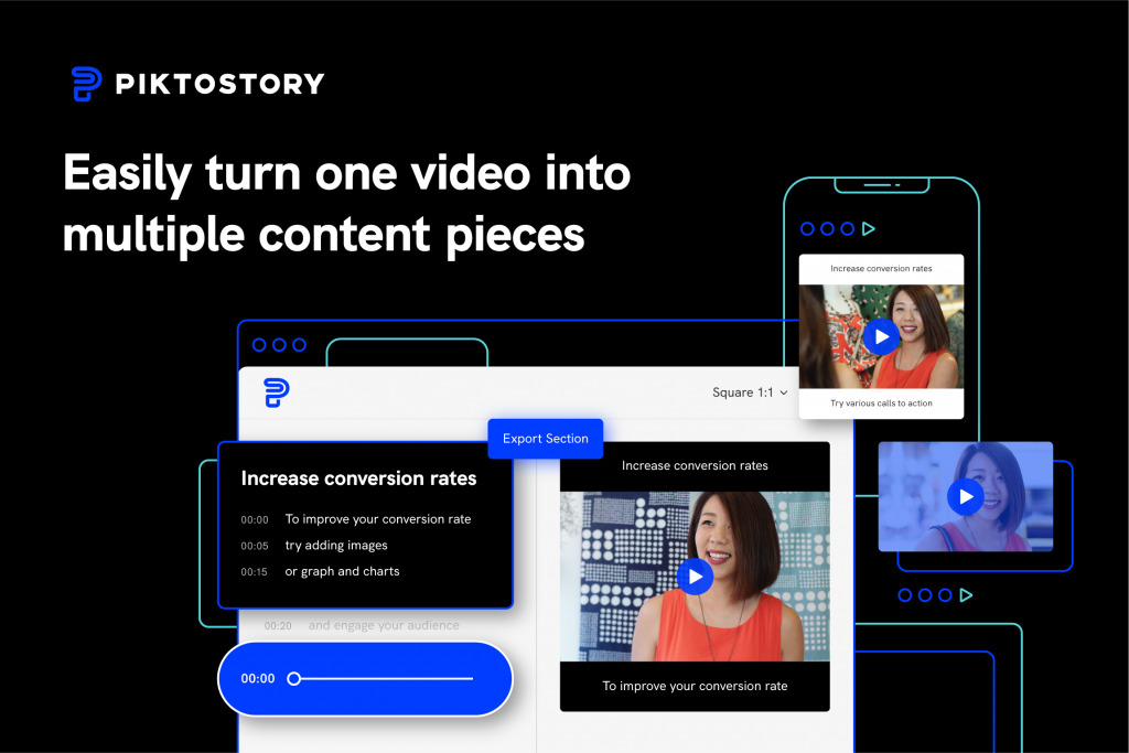 piktostory, video editor for beginners, easy to use video editor