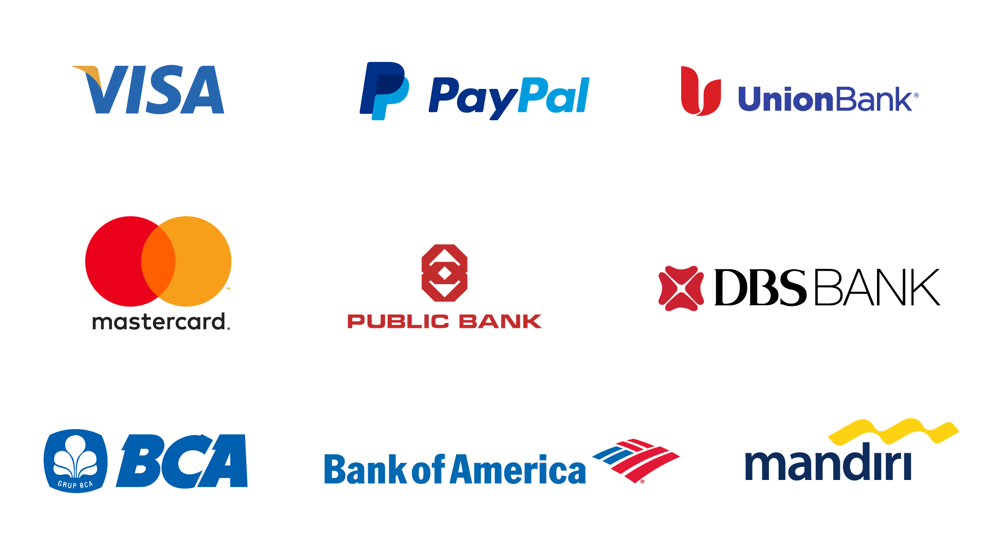 finance industry logos