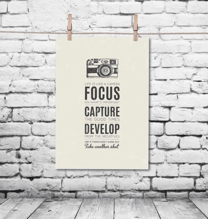 modern motivational poster