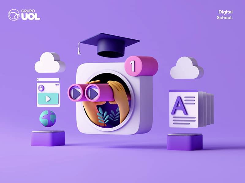 digital school 3D design