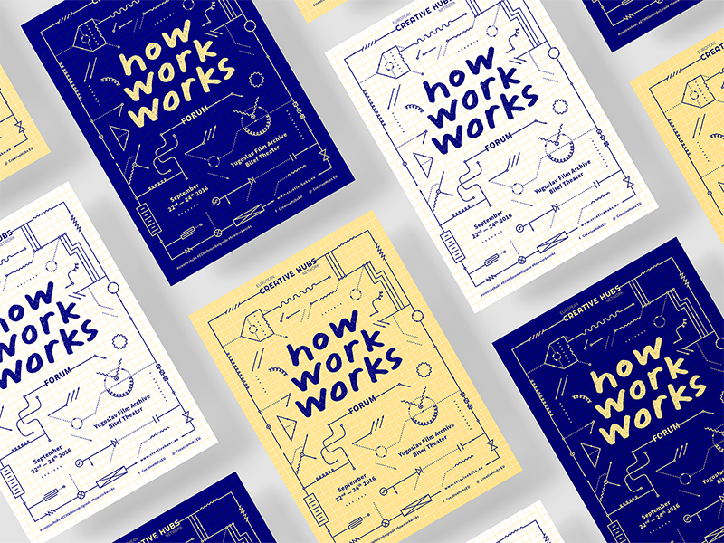 how work works post, trends in professional graphic design