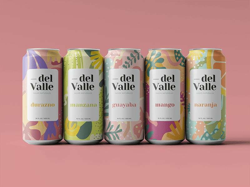 jugos del valle rebranding, organic packaging design examples, graphic design trends