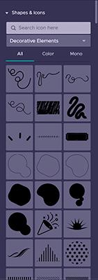 piktochart design elements