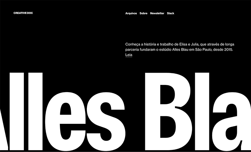 bold typography examples, bold typography