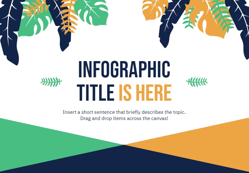 what do plants in design symbolize, organic design infographics , infographic template