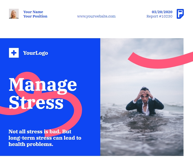 stress management posters, stress management poster, poster example
