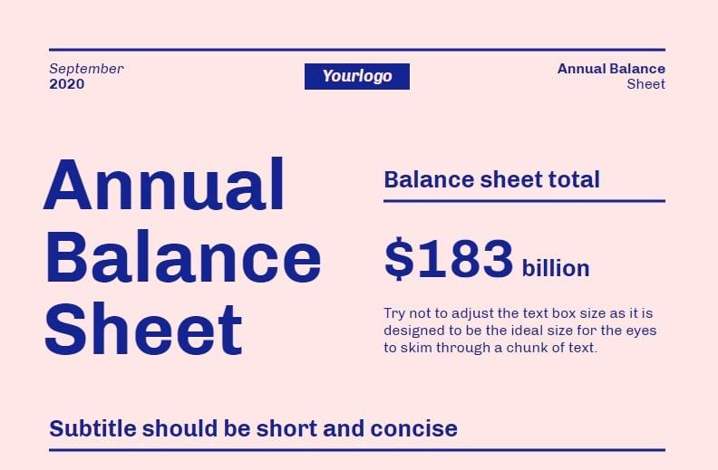 balance sheet design template, business infographic template