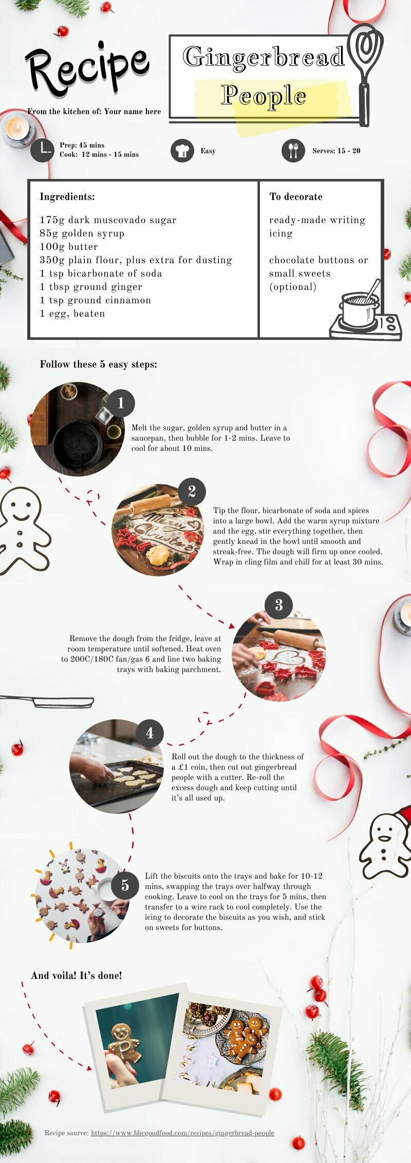 Holiday Recipe