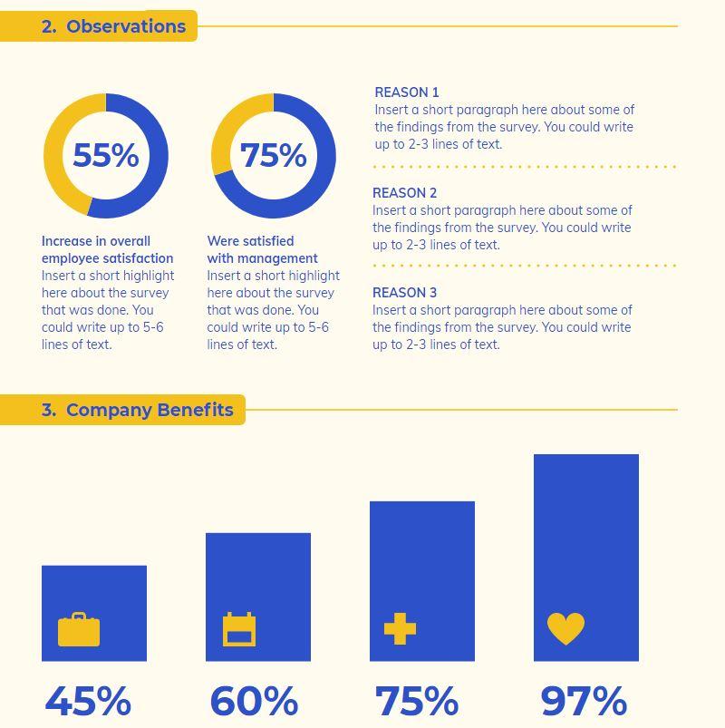Infographic report example