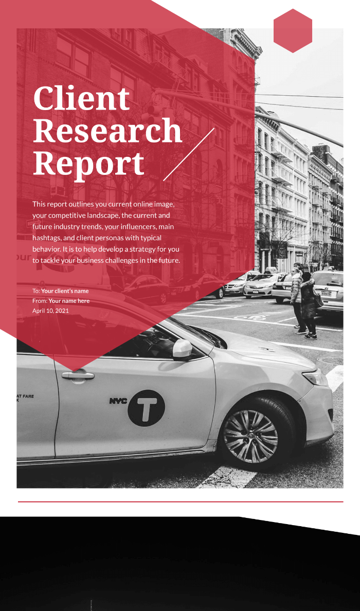 Client Research Report