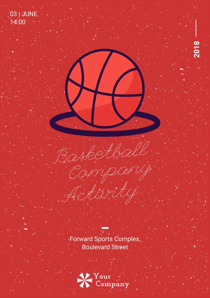 Team Activity - Basketball, illustration